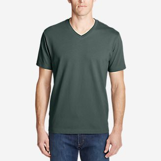 Men's Legend Wash Pro Short-Sleeve V-Neck T-Shirt in Green