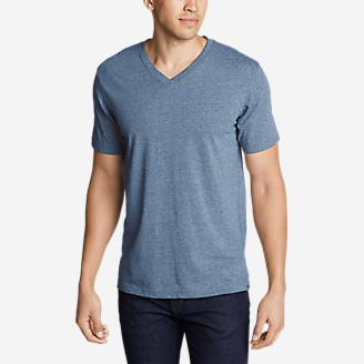 Men's Legend Wash Pro Short-Sleeve V-Neck T-Shirt in Blue