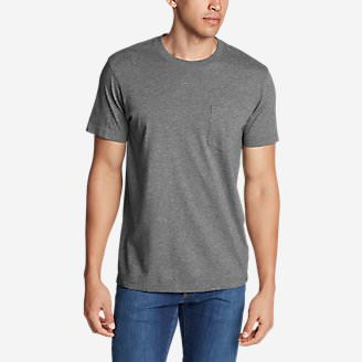 Men's Legend Wash Pro Short-Sleeve Pocket T-Shirt in Gray