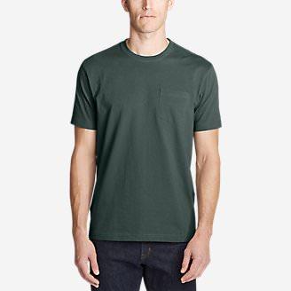 Men's Legend Wash Pro Short-Sleeve Pocket T-Shirt in Green