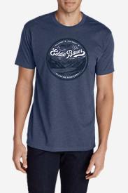 Men's Graphic T-Shirt - Alaskan Territory in Blue