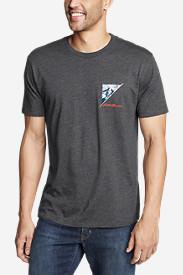 Men's Graphic T-Shirt - Rainier Bias in Gray