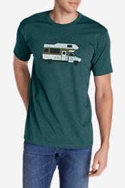 Men's Graphic T-Shirt - Highway Explorer in Green