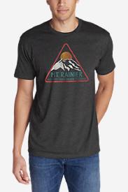 Men's Graphic T-Shirt - Gradient Rainier in Gray