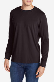 Men's Legend Wash Long-Sleeve T-Shirt - Classic Fit in Purple
