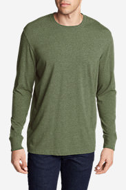 Men's Legend Wash Long-Sleeve T-Shirt - Classic Fit in Green