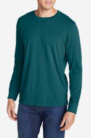 Men's Legend Wash Long-Sleeve T-Shirt - Classic Fit in Blue