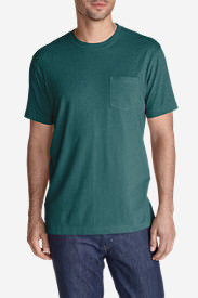 Men's Legend Wash Short-Sleeve Pocket T-Shirt - Classic Fit in Green