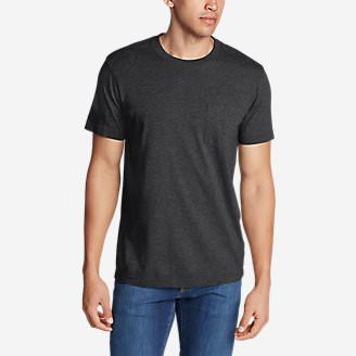 Men's Legend Wash Short-Sleeve Pocket T-Shirt - Classic Fit in Black