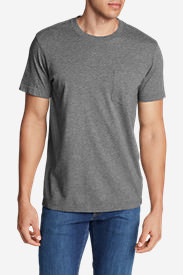Men's Legend Wash Short-Sleeve Pocket T-Shirt - Classic Fit in Gray