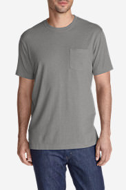 Men's Legend Wash Short-Sleeve Pocket T-Shirt - Classic Fit in Gray