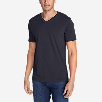 Men's Legend Wash Short-Sleeve V-Neck T-Shirt - Classic Fit in Blue