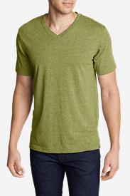 Men's Legend Wash Short-Sleeve V-Neck T-Shirt - Classic Fit in Green