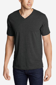 Men's Legend Wash Short-Sleeve V-Neck T-Shirt - Classic Fit in Black