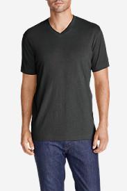 Men's Legend Wash Short-Sleeve V-Neck T-Shirt - Classic Fit in Gray