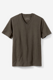 Men's Legend Wash Short-Sleeve V-Neck T-Shirt - Classic Fit in Beige