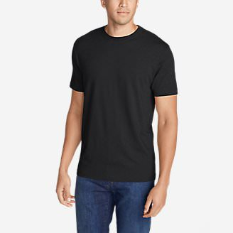 Men's Legend Wash Short-Sleeve T-Shirt - Classic Fit in Black