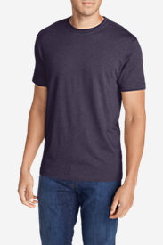 Men's Legend Wash Short-Sleeve T-Shirt - Classic Fit Tall in Purple