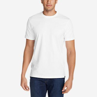 Men's Legend Wash Short-Sleeve T-Shirt - Classic Fit in White