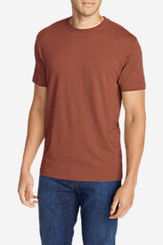 Men's Legend Wash Short-Sleeve T-Shirt - Classic Fit Tall in Brown