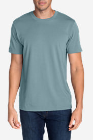 Men's Legend Wash Short-Sleeve T-Shirt - Classic Fit Tall in Blue