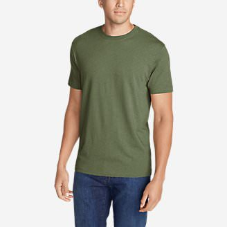 ef632bbbcb Men's Legend Wash Short-Sleeve T-Shirt - Classic Fit in Green
