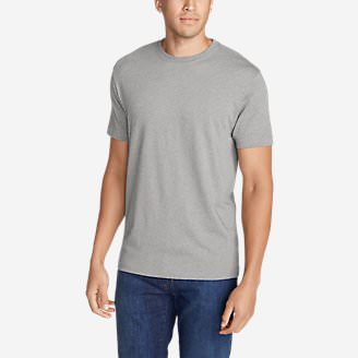 Men's Legend Wash Short-Sleeve T-Shirt - Classic Fit in Gray