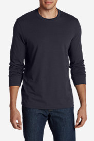 Men's Legend Wash Long-Sleeve T-Shirt - Slim Fit in Blue