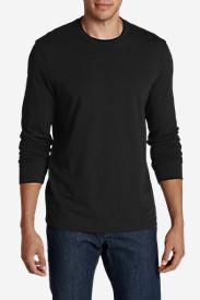 Men's Legend Wash Long-Sleeve T-Shirt - Slim Fit in Black