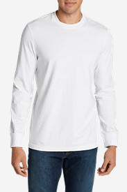 Men's Legend Wash Long-Sleeve T-Shirt - Slim Fit in White