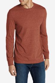 Men's Legend Wash Long-Sleeve T-Shirt - Slim Fit in Brown