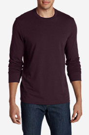 Men's Legend Wash Long-Sleeve T-Shirt - Slim Fit in Red
