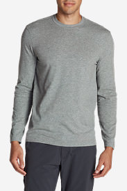 Men's Lookout Long-Sleeve T-Shirt - Solid in Gray
