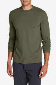 Men's Lookout Long-Sleeve T-Shirt - Solid in Green