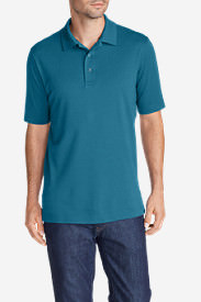 Men's Voyager 2.0 Performance Short-Sleeve Polo Shirt - Solid in Blue