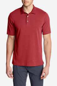 Men's Voyager 2.0 Performance Short-Sleeve Polo Shirt - Solid in Red