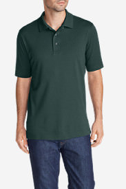 Men's Voyager 2.0 Performance Short-Sleeve Polo Shirt - Relaxed Fit, Solid in Green