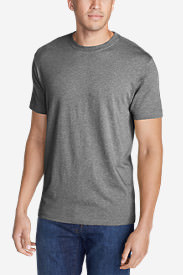 Men's Legend Wash Short-Sleeve T-Shirt - Slim Fit in Gray