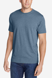 Men's Legend Wash Short-Sleeve T-Shirt - Slim Fit in Blue
