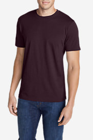 Men's Legend Wash Short-Sleeve T-Shirt - Slim Fit in Red
