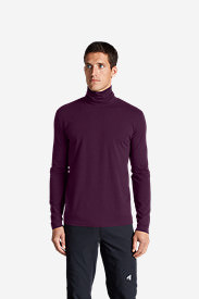 Men's Lookout Turtleneck in Red