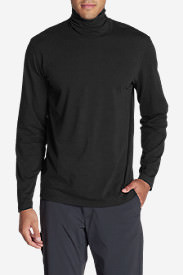 Men's Lookout Turtleneck in Black