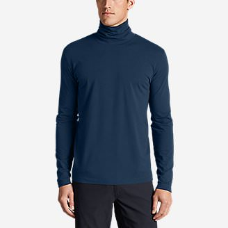 Men's Lookout Turtleneck in Blue