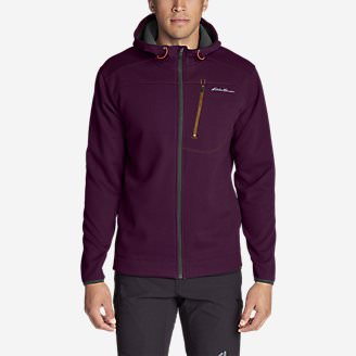 Men's Synthesis Pro Full-Zip Hoodie in Red