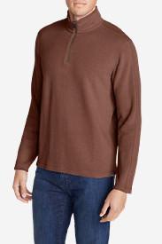 Men's Kachess 1/4-Zip Mock Pullover in Red
