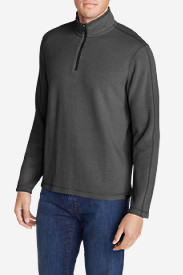 Men's Kachess 1/4-Zip Mock Pullover in Black