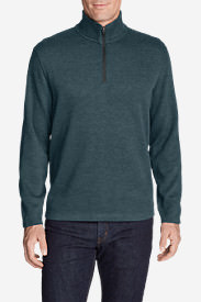 Men's Kachess 1/4-Zip Mock Pullover in Green