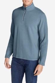 Men's Kachess 1/4-Zip Mock Pullover in Blue