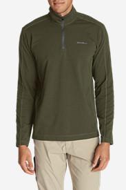 Men's Lookout 1/4-Zip Mockneck in Green