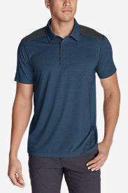 Men's Bluewing Short-Sleeve Polo Shirt in Blue